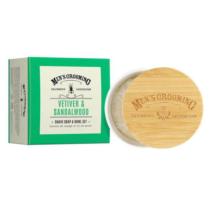Scottish Fine Soaps Shave Soap and Bowl 100g