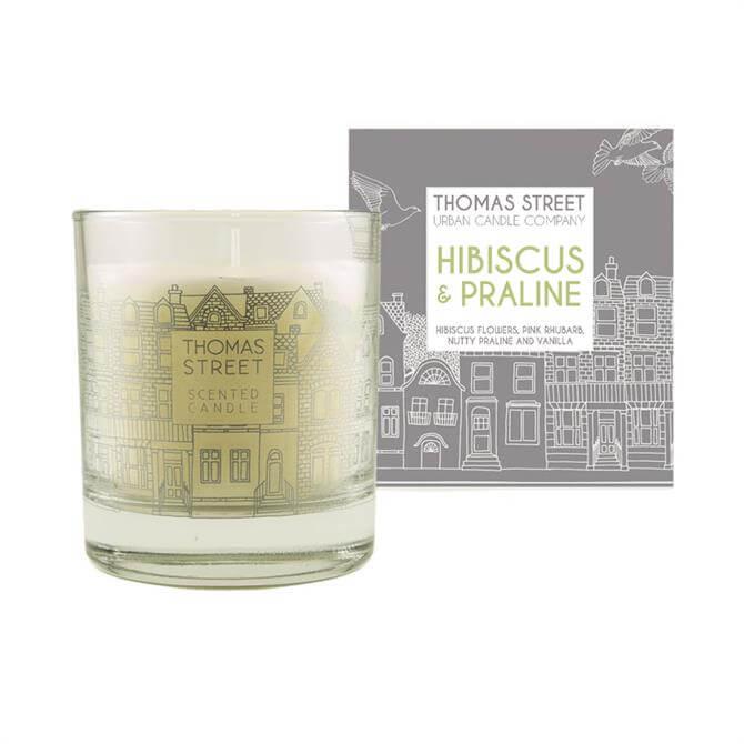 Thomas Street Natural Wax Glass Candle