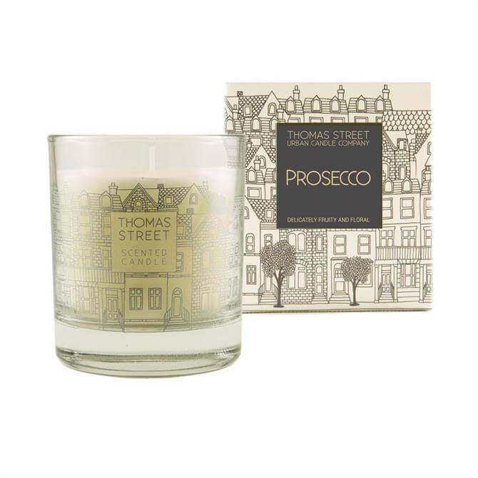 Thomas Street Glass Jar Candle
