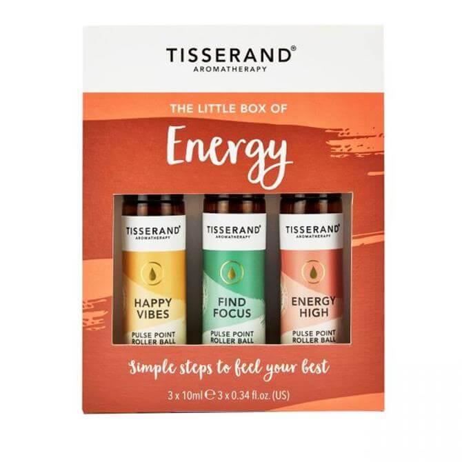 Tisserand The Little Box of Energy Roller Balls 3x 10ml