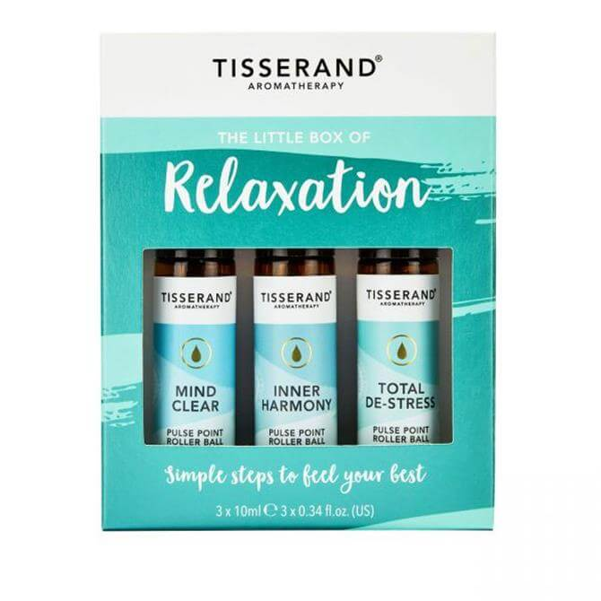 Tisserand The Little Box of Relaxation Roller Balls 3x 10ml