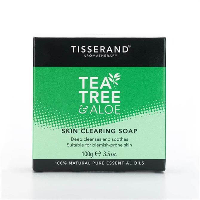 Tisserand Tea Tree & Aloe Skin Clearing Soap 100g