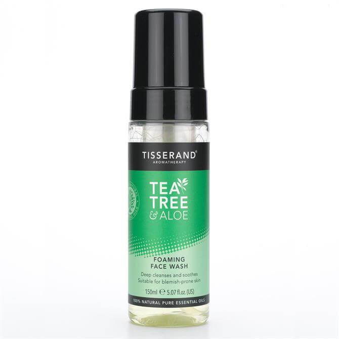 Tisserand Tea Tree & Aloe Foaming Face Wash 150ml