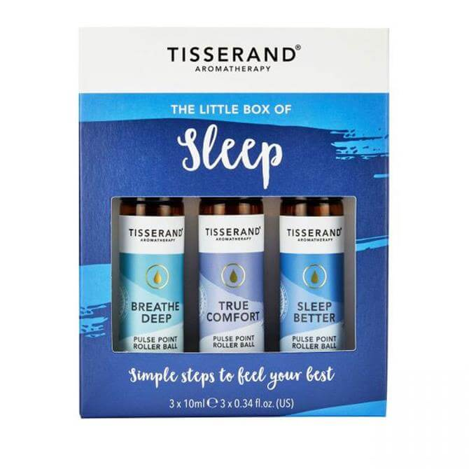 Tisserand The Little Box of Sleep Roller Balls 3x 10ml