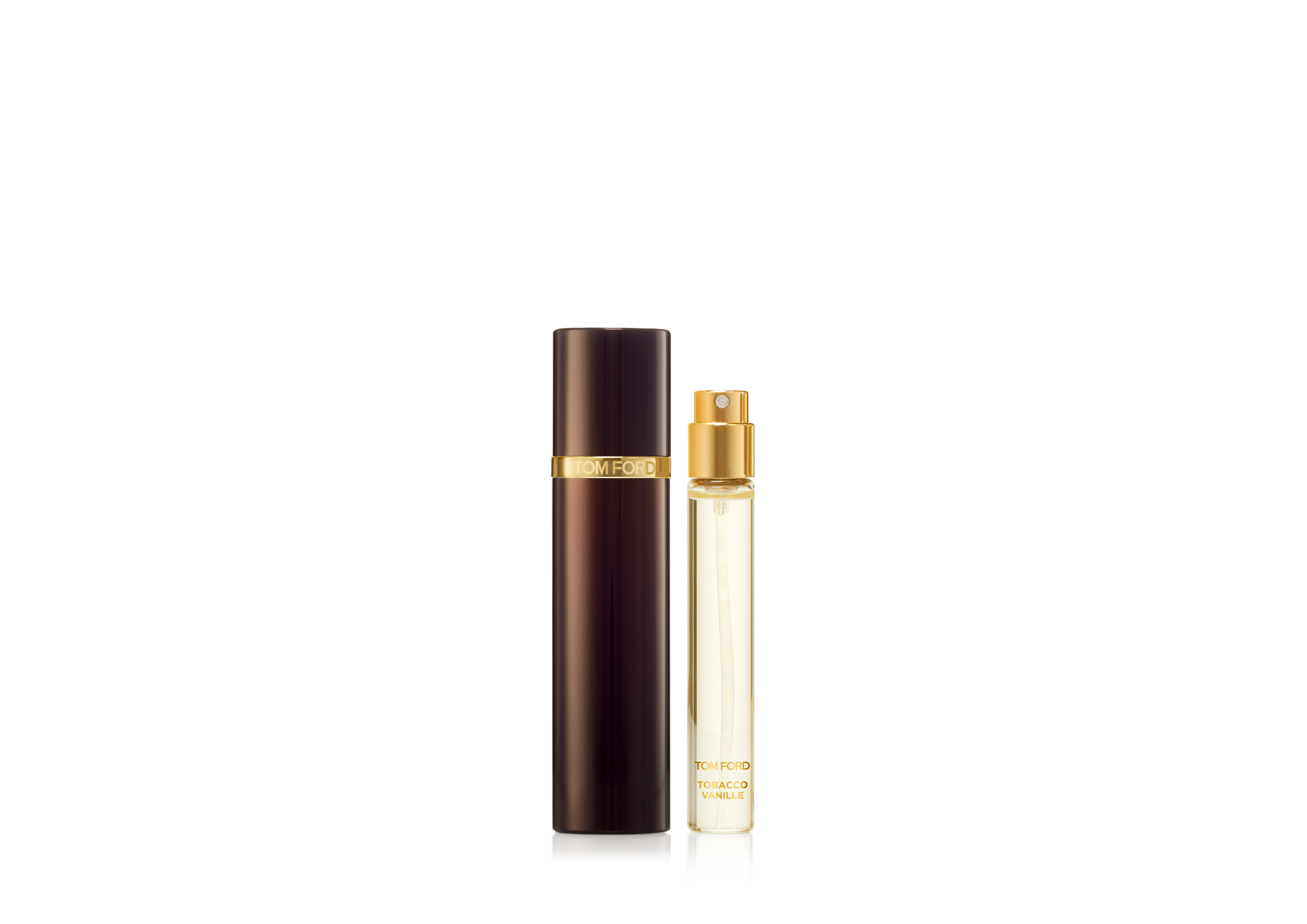 An image of TOM FORD Private Blend Travel Atomizer 10ml - TOBACCO VANILLE