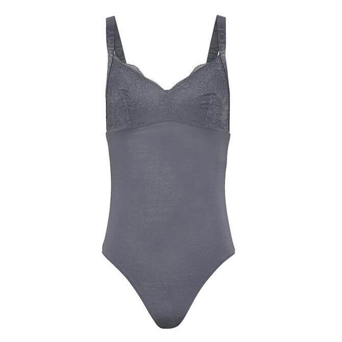 Tommy Hilfiger Scalloped Lace Bodysuit