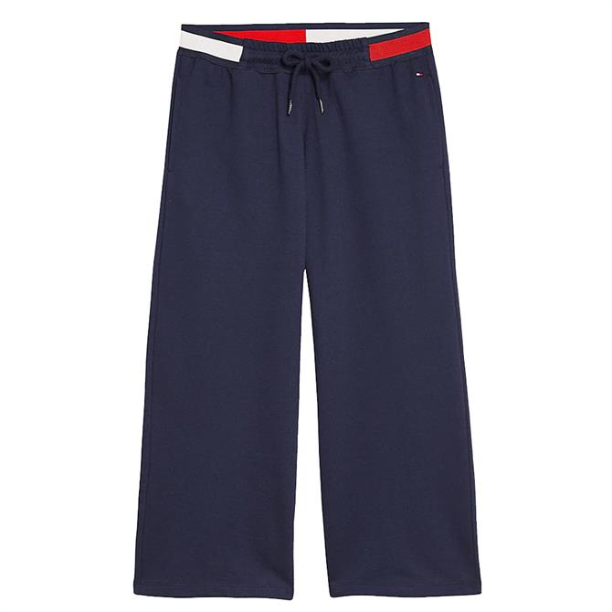 Tommy Hilfiger Colour-Blocked Wide Leg Joggers