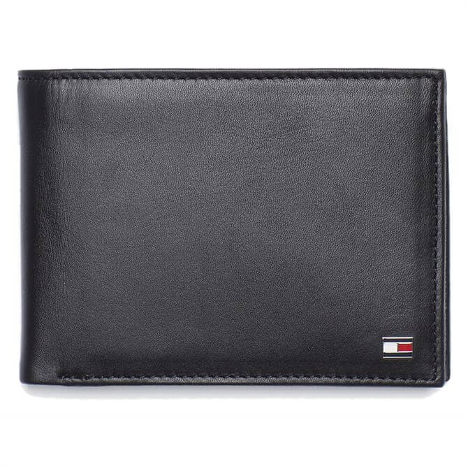 Tommy Hilfiger Bifold Black Leather Wallet