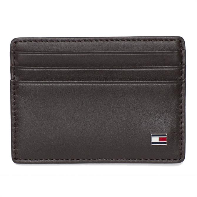 Tommy Hilfiger Logo Leather Card Holder