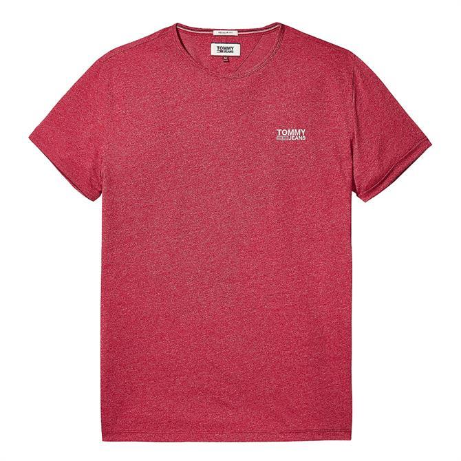 Tommy Jeans Regular Fit Jaspe T-Shirt