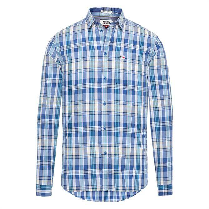 Tommy Jeans Essential Pure Cotton Check Shirt