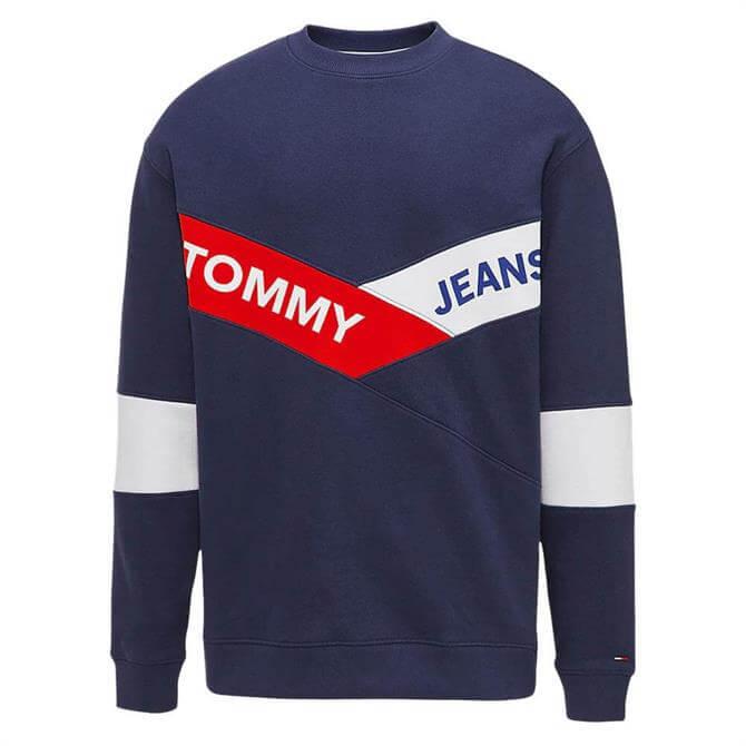 Tommy Jeans Chevron Logo Sweatshirt