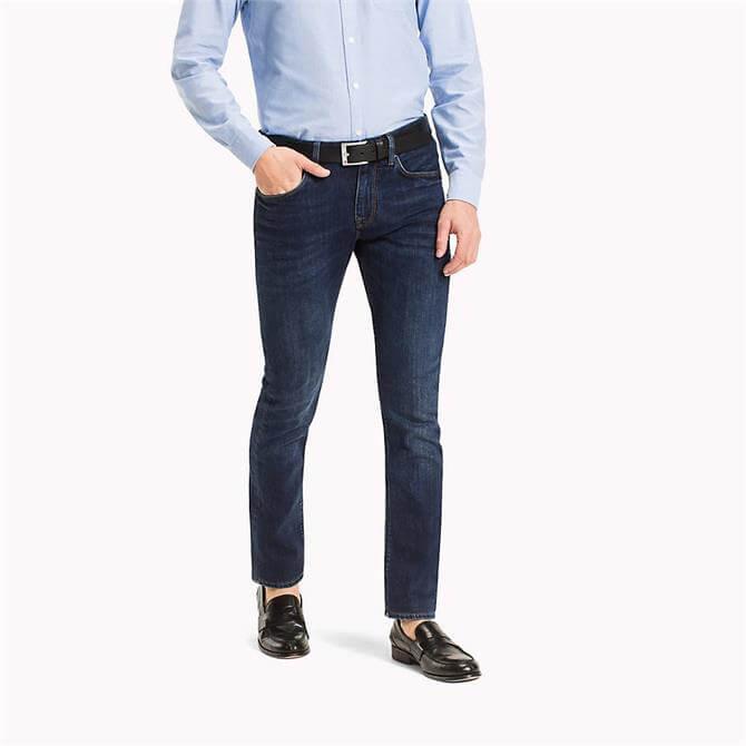 Tommy Hilfiger Core Denton Straight Fit Jeans, New Dark Stone