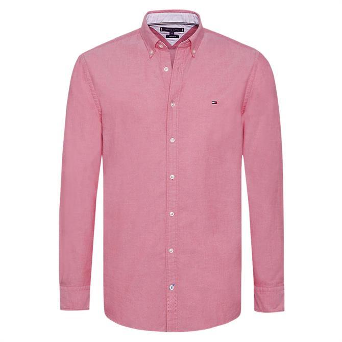 Tommy Hilfiger Sandwashed Cotton Oxford Shirt