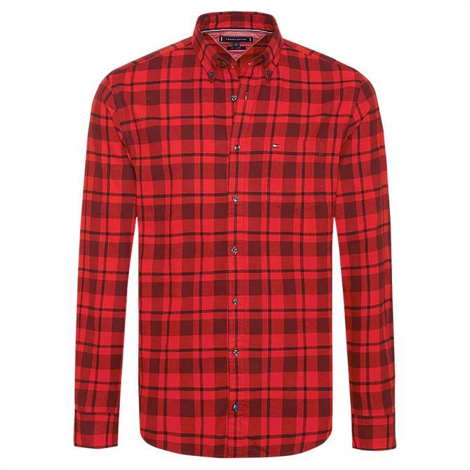 Tommy Hilfiger Pure Cotton Buffalo Check Shirt