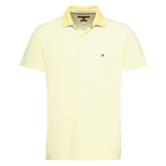 Tommy Hilfiger Under Collar Print Polo Shirt