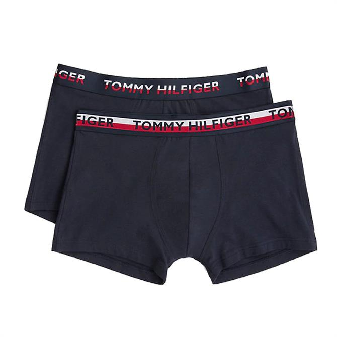 Tommy Hilfiger 2-Pack Logo Waist Trunks