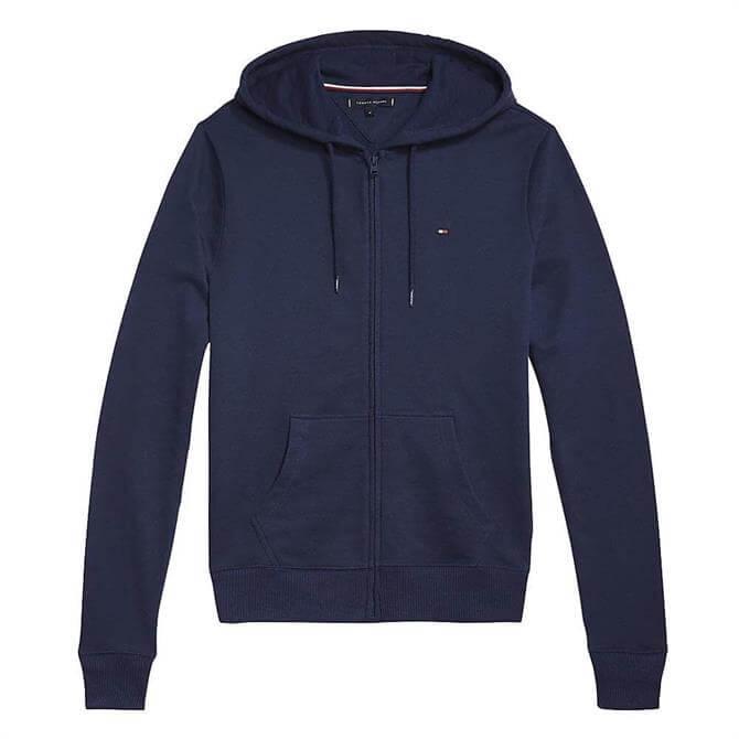 Tommy Hilfiger Logo Hood Zip-Thru Hoody