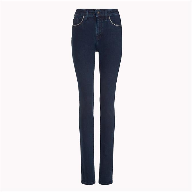 Tommy Hilfiger Chain Detail Skinny Fit Jeans