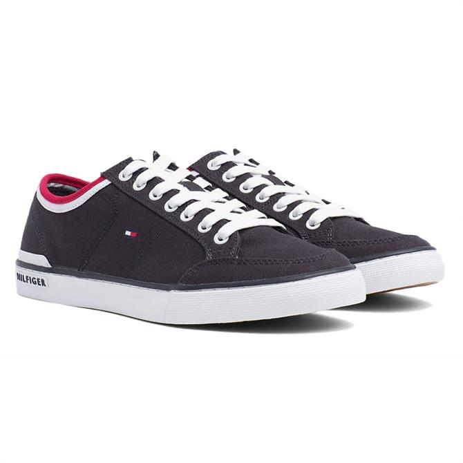 Tommy Hilfiger Cotton Logo Trainers