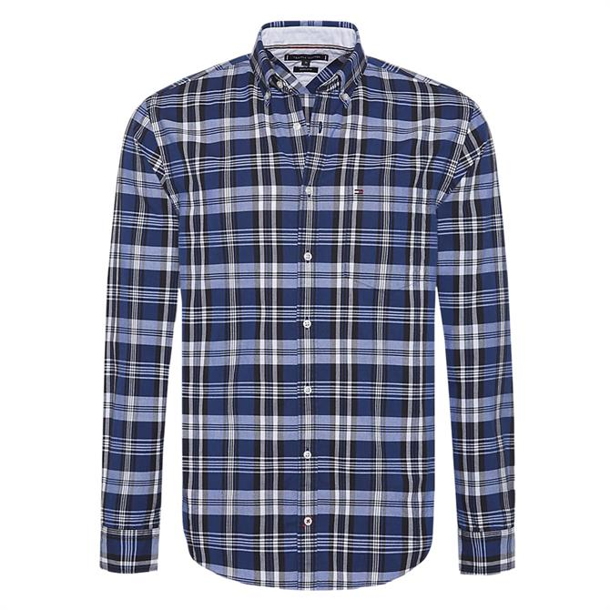 Tommy Hilfiger Pure Cotton Check Oxford Shirt