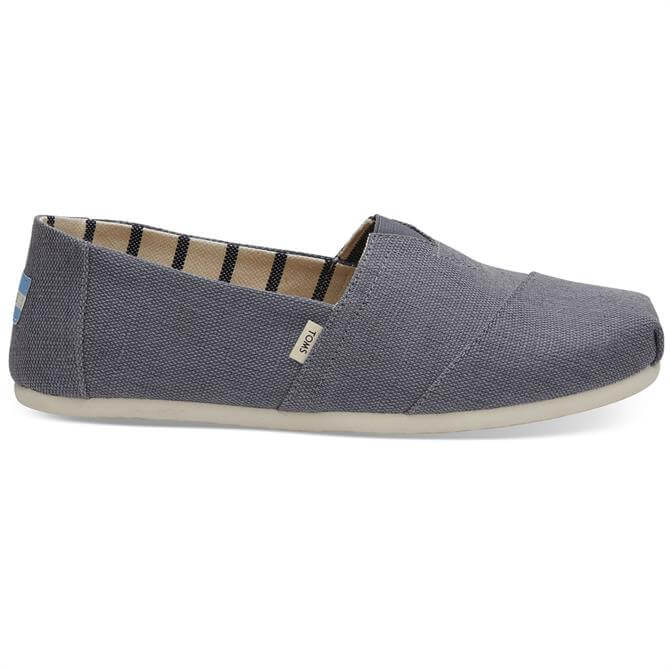 Toms Dark Grey Men's Alpargatas