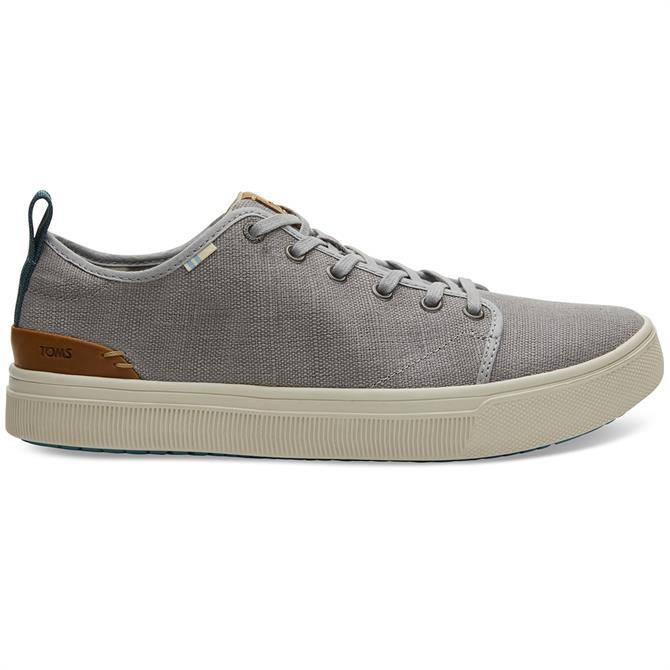 TOMS TRVL Lite Low Mens Sneakers – Grey Canvas
