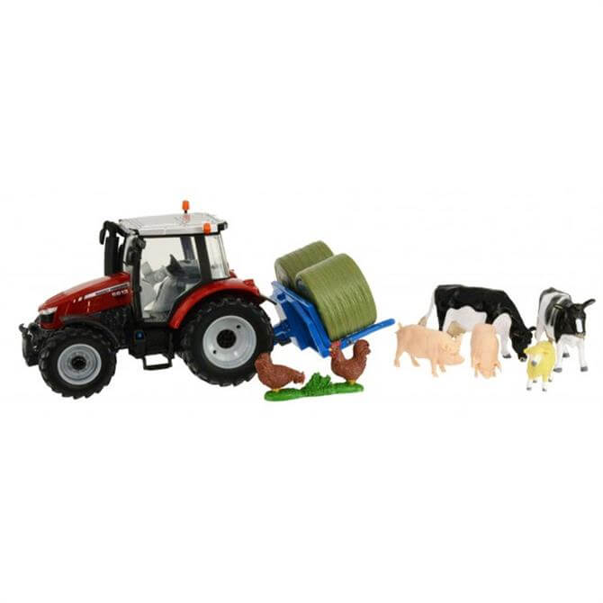Tomy Britains Massey Tractor Set