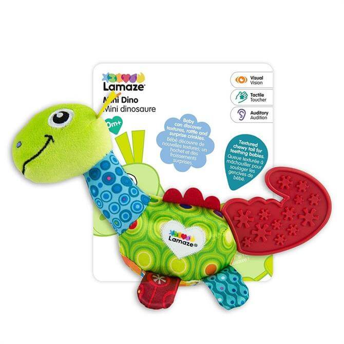 Tomy Lamaze Mini Dino Teether