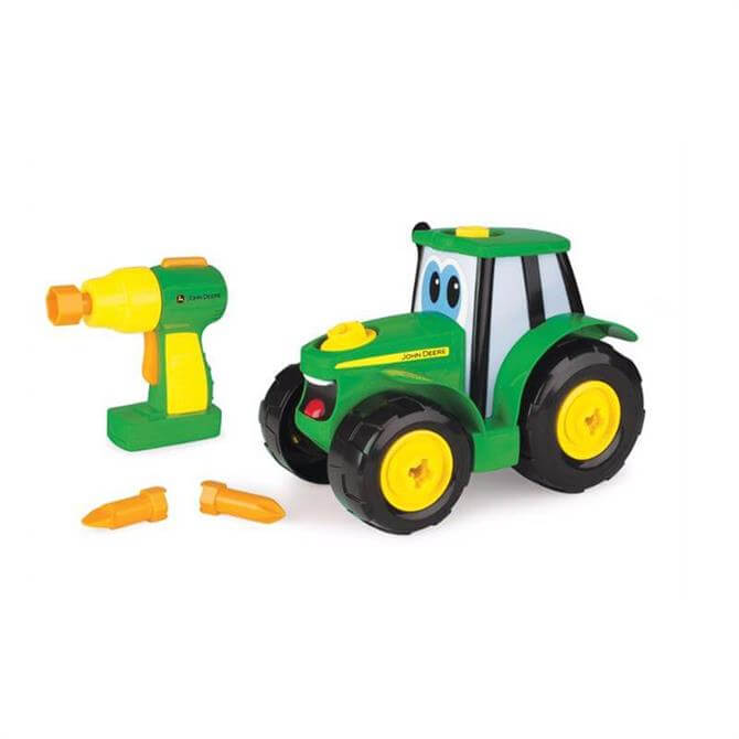Tomy John Deere Build-a-Johnny Tractor
