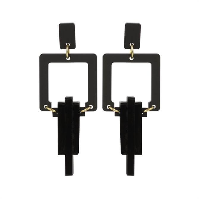Toolally Square Droplets Earrings