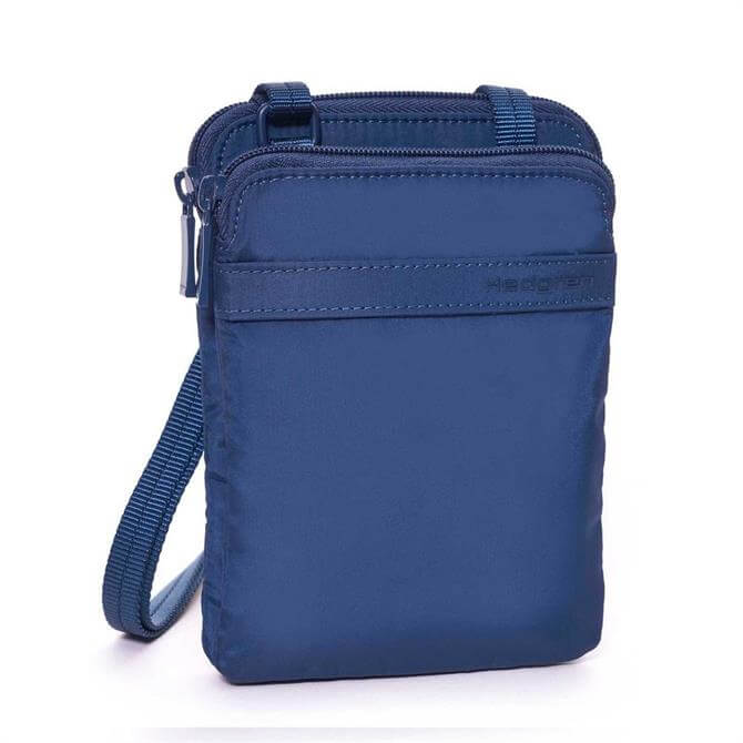 Hedgren Rupee Passport Holder- Dress Blue