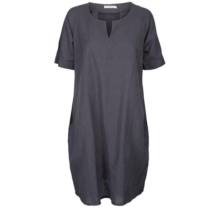 Two Danes Laica Short Sleeved Cocoon Dress