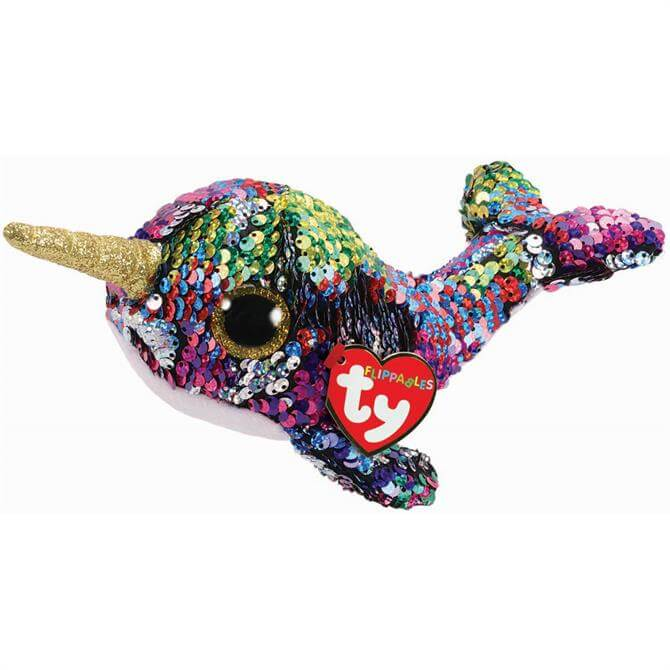 TY Flippable Calypso Narwhal