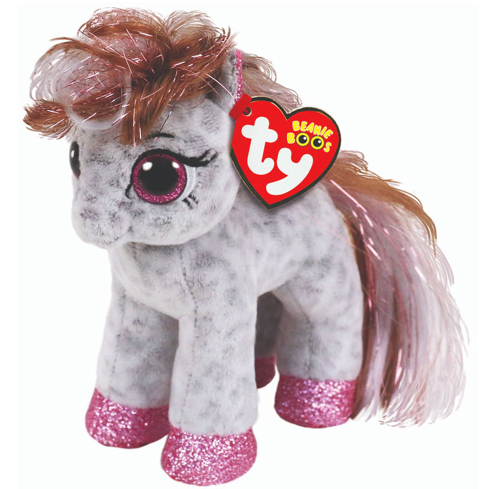 An image of Ty Cinnamon Spotted Pony Beanie Boo