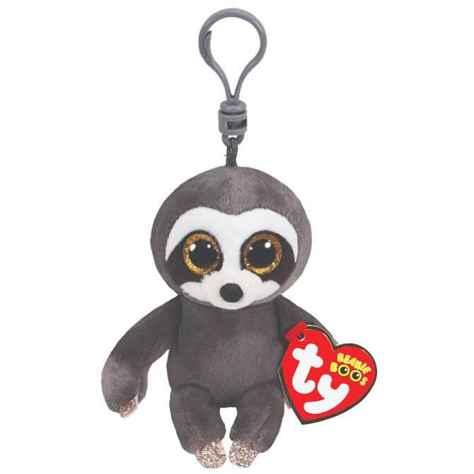 Ty Dangler Sloth Boo Key Clip 36559