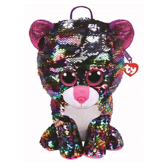 Ty Flippable Dotty Leopard Backpack