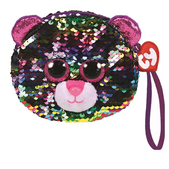 Ty Flippable Dotty Leopard Purse