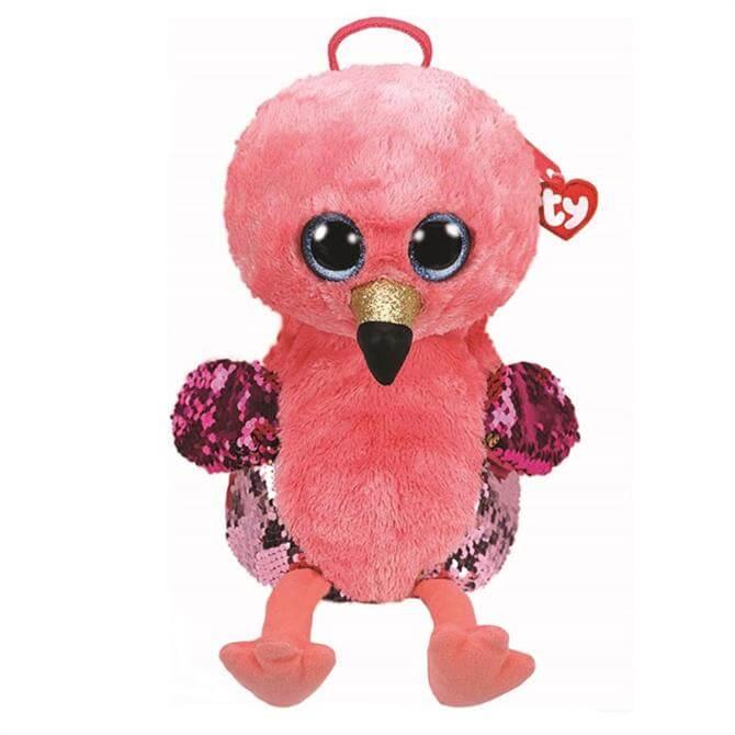 Ty Flippable Gilda Flamingo Backpack