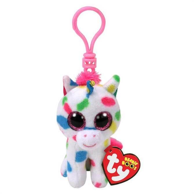 Ty Harmonie Unicorn Boo Key Clip