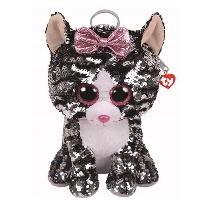 Ty Flippable Kiki Cat Backpack