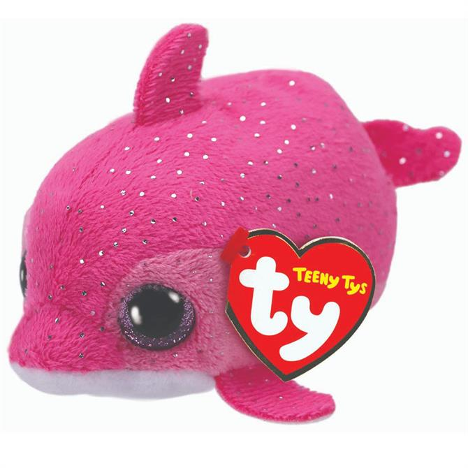 Ty Teeny Floater Pink Dolphin