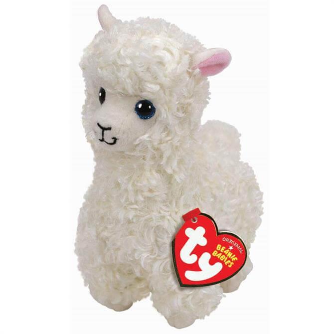 Ty Beanie Baby Lily Llama