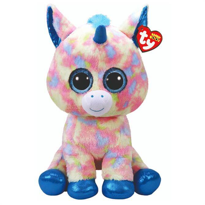 Ty Blitz Blue Unicorn Large