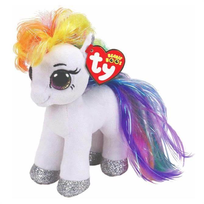 Ty Starr White Pony Beanie Boo