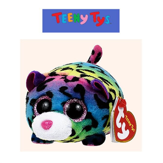 Ty Teeny Multicoloured Leopard