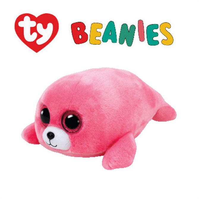 Ty Pierre Pink Seal Boo Buddy - Medium