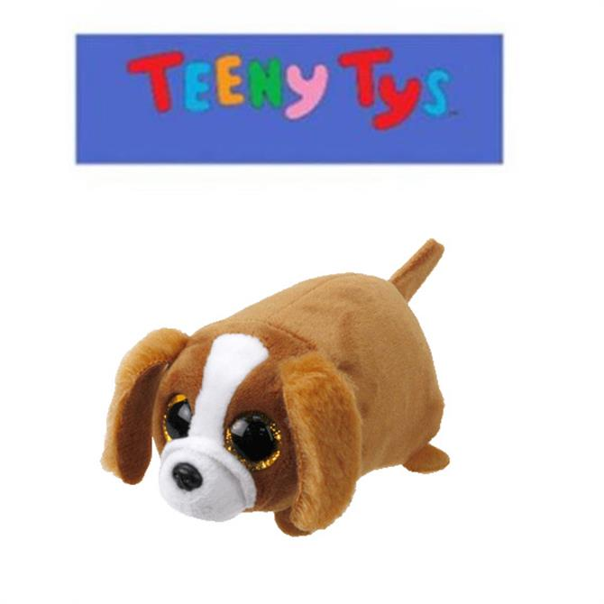 Ty Teeny Suzie Brown and White Dog