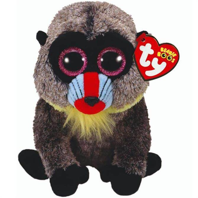 Ty Wasabi Baboon Beanie Boo