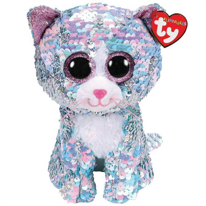 TY Flippable Whimsy Cat Medium